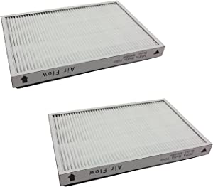 Eagleggo 2 Pack for Kenmore EF-1 Exhaust HEPA Vacuum Filter (compares to 86889) and for Panasonic (compares to MC-V199H).