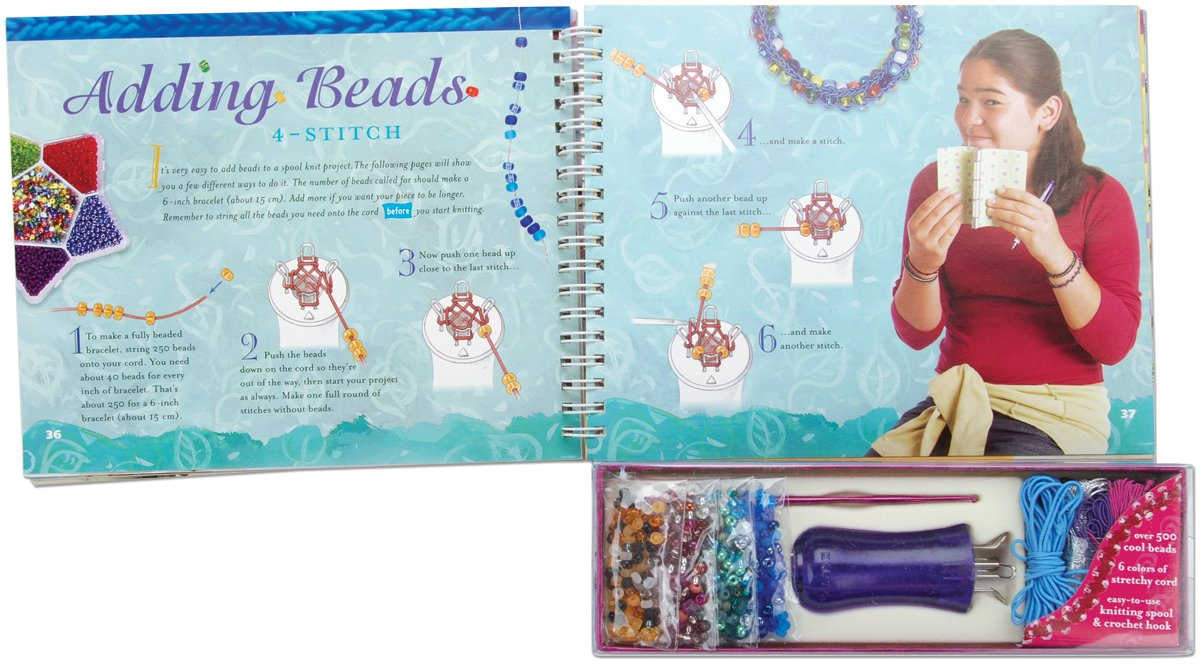 Spool Knit Jewelry Beautiful Bracelets