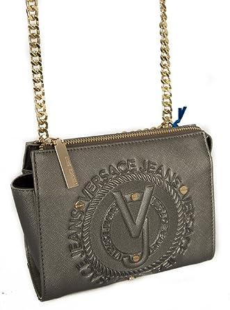 6631c310a5870 Versace Schultergurt Tasche Damen JEANS Artikel E1VQBBQ6 75463 LINEA Q DIS.6
