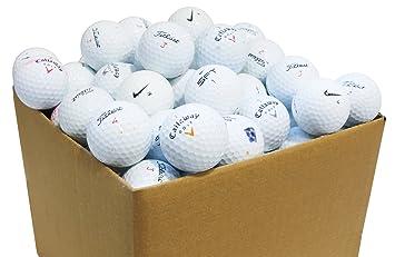 9e9938747c758 Second Chance 100-PRAC-BOX - Lote de 100 bolas de golf recuperadas de lagos  de varias marcas clase B  Amazon.es  Deportes y aire libre