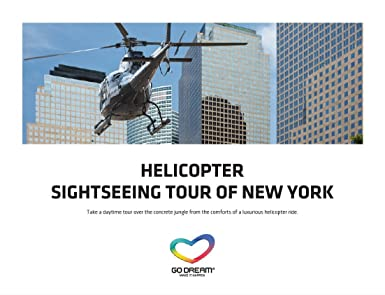 Amazon.com: Helicopter Tour Sighseeing in New York Experience Gift ...