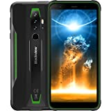 Rugged Cell Phones Unlocked Blackview BV6300Pro (2020) Android 10 Phone, 6GB+128GB IP68 Waterproof 16MP + HDR Quad Cameras, W