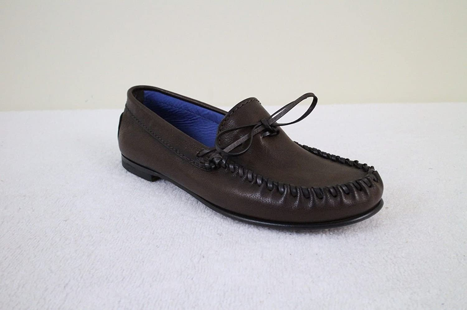 Amazon.com : Tom Ford Mens Brown Leather Moccasins Shoes Size 10.5 T : Sports & Outdoors