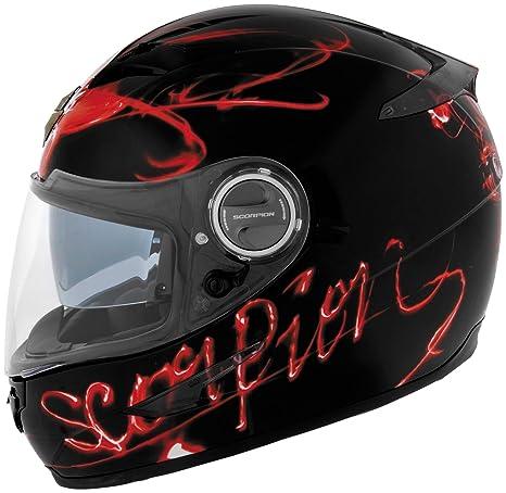 Amazon.com: Scorpion exo-500 Ardent Casco de motocicleta (XS ...