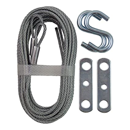 Ideal Security Sk7112 Garage Door Extension Cable Kit 2 Galvanized