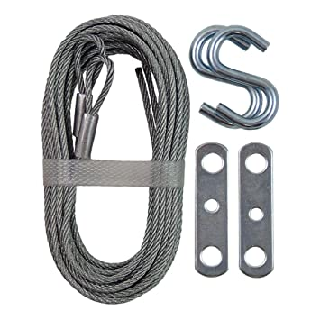 14 x 7 garage door ideal security inc sk7112 garage door extension cable galvanized