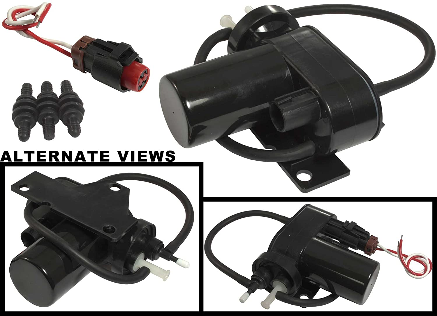 71plL1AylJL._SL1500_ amazon com apdty 015325 kit electric vacuum pump w wiring Ford Wiring Harness Diagrams at soozxer.org