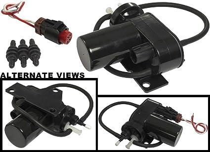 amazon com apdty 015325 kit electric vacuum pump w wiring harness rh amazon com Liquid Ring Vacuum Pump Diagram 2005 Cadillac Vacuum Pump Wire