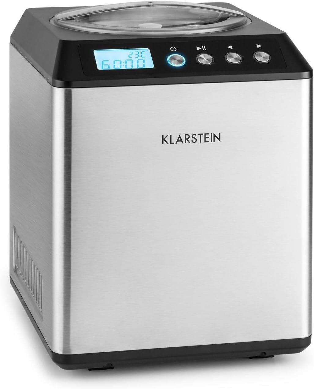 Klarstein Vanilla • máquina Hielo• Acero Inoxidable • Plata ...