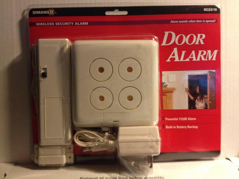 Amazon.com: Dimango Wireless Security Door Alarm: Home Improvement