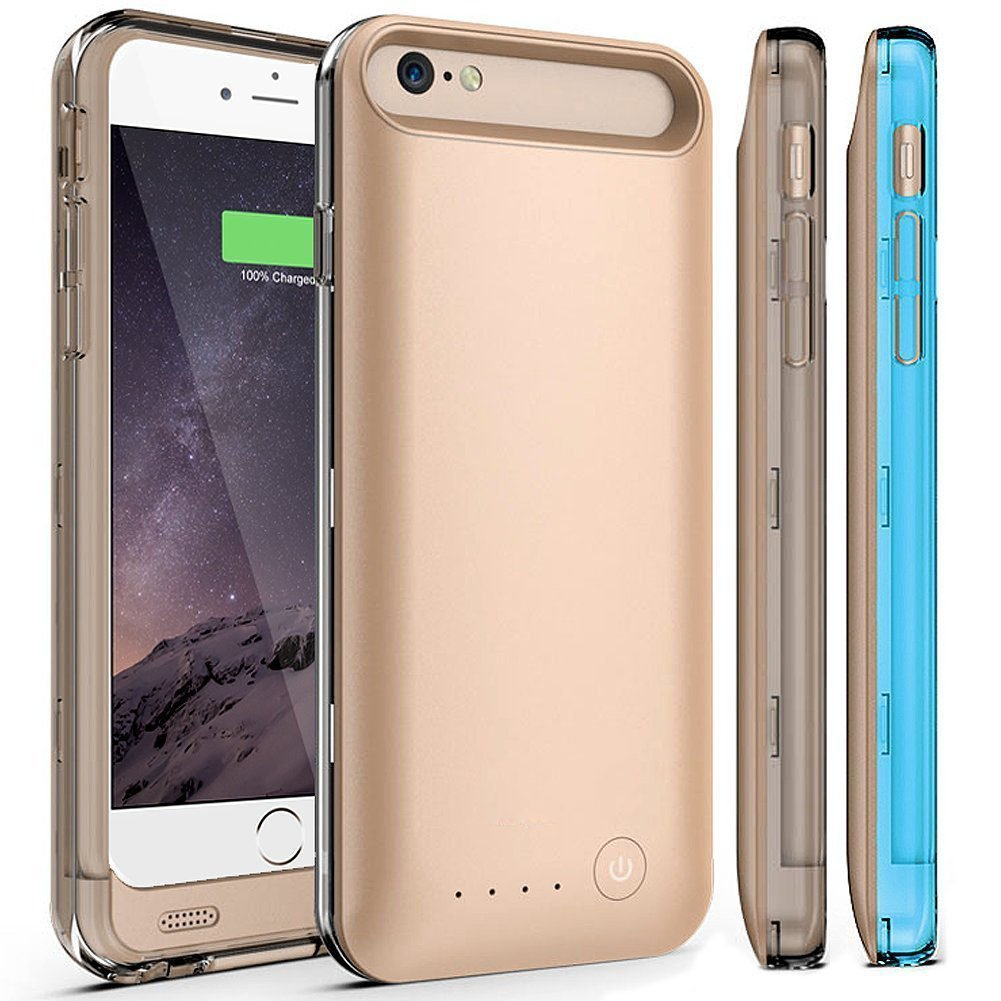 iphone 6 rechargable phone case