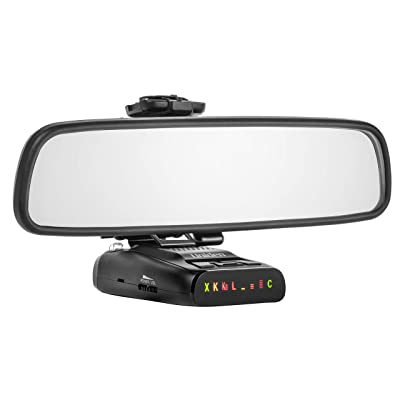 Mirror Mount Radar Detector Bracket for Uniden DFR Series Detectors: Radar Mount: Car Electronics
