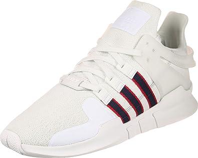 Adidas EQT Support ADV Crystal White Navy Scarlet 46.5 AZpK9JBH