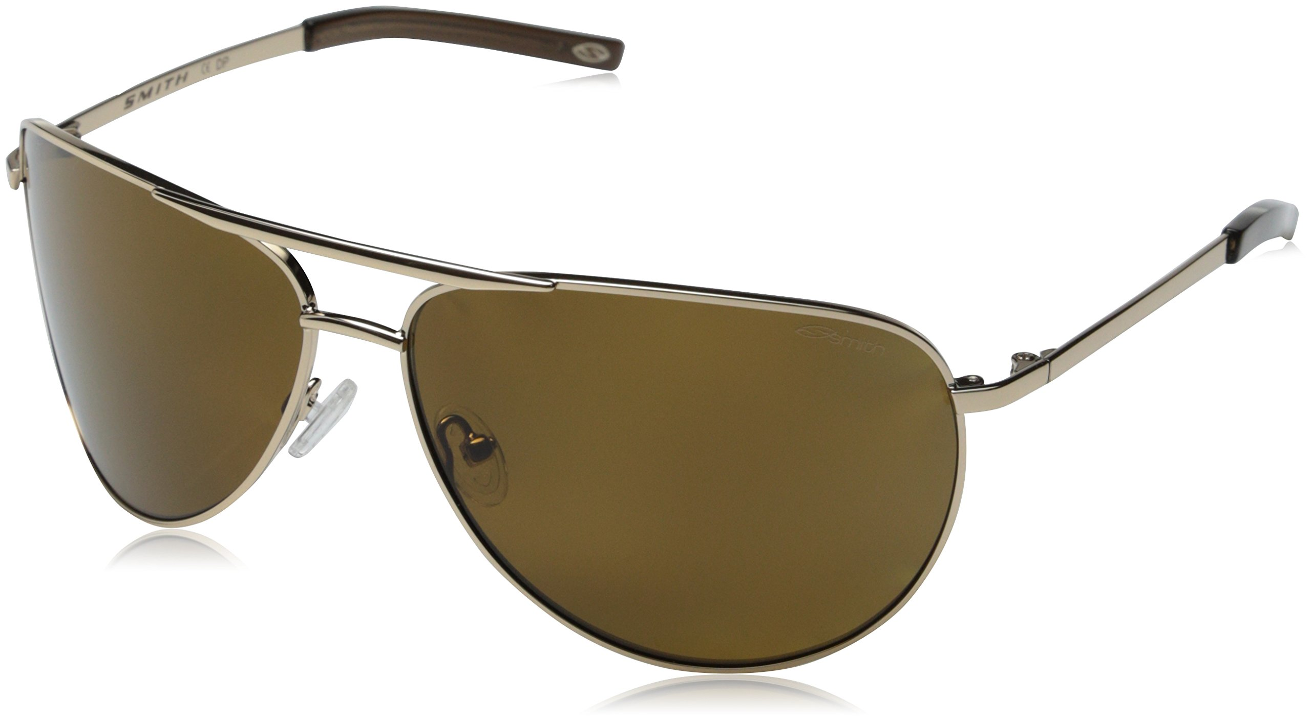 Smith Optics Serpico Sunglasses (Gold with Polarized Brown Lens)