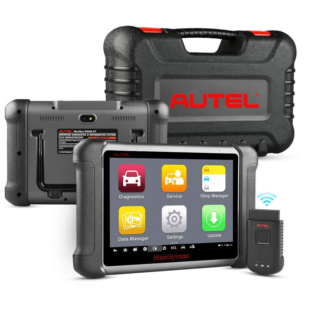Autel Maxisys MS908 Automotive Diagnostic Tool Android Analysis System with Advanced Key Programming ECU Coding