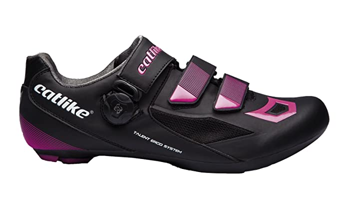 CATLIKE Talent Road 2016, Zapatillas de Ciclismo de Carretera Unisex Adulto, (Negro/Blanco/Rojo 000), 43 EU: Amazon.es: Zapatos y complementos
