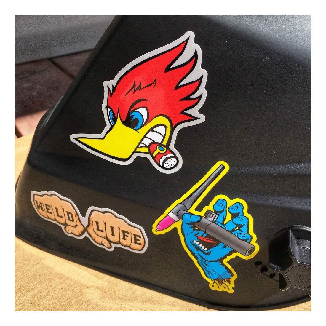 New Welder 40+ Hard Hat Stickers Hardhat Sticker & Decals, Welding Helmet, Hood by Unknown (Image #2)