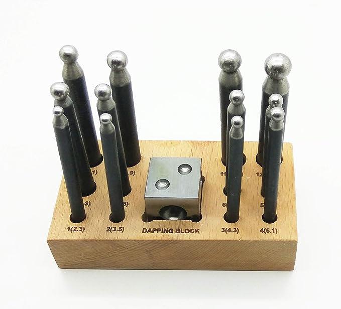 Pinzas de soldadura con punta plana y varilla pinzas para bisuter/ía n./º 03611 PTL/® Prestige
