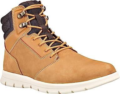 Graydon Sneaker Boot, Wheat Nubuck