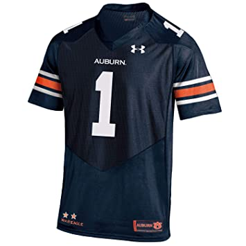 Under Armour Auburn Tigers 1 Heatgear Loose Sideline Replica - Camiseta de fútbol, XXL,