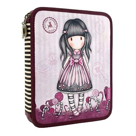 a85514e9fd2 Gorjuss Sugar and Spice Double Filled Pencil Case: Amazon.it ...