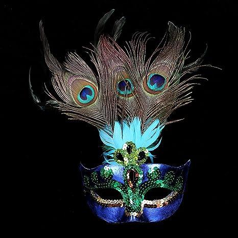 Amazon.com: vidrio d Arques Masquerade Máscara, las mujeres ...