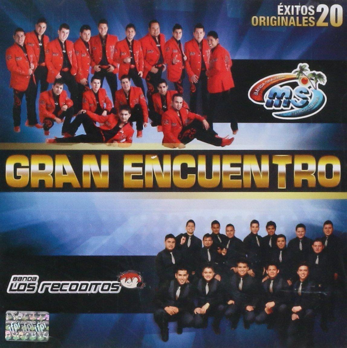 Banda MS - Banda Recoditos (Gran Encuentro 20 Exitos Originales Disa-563519) by Disa