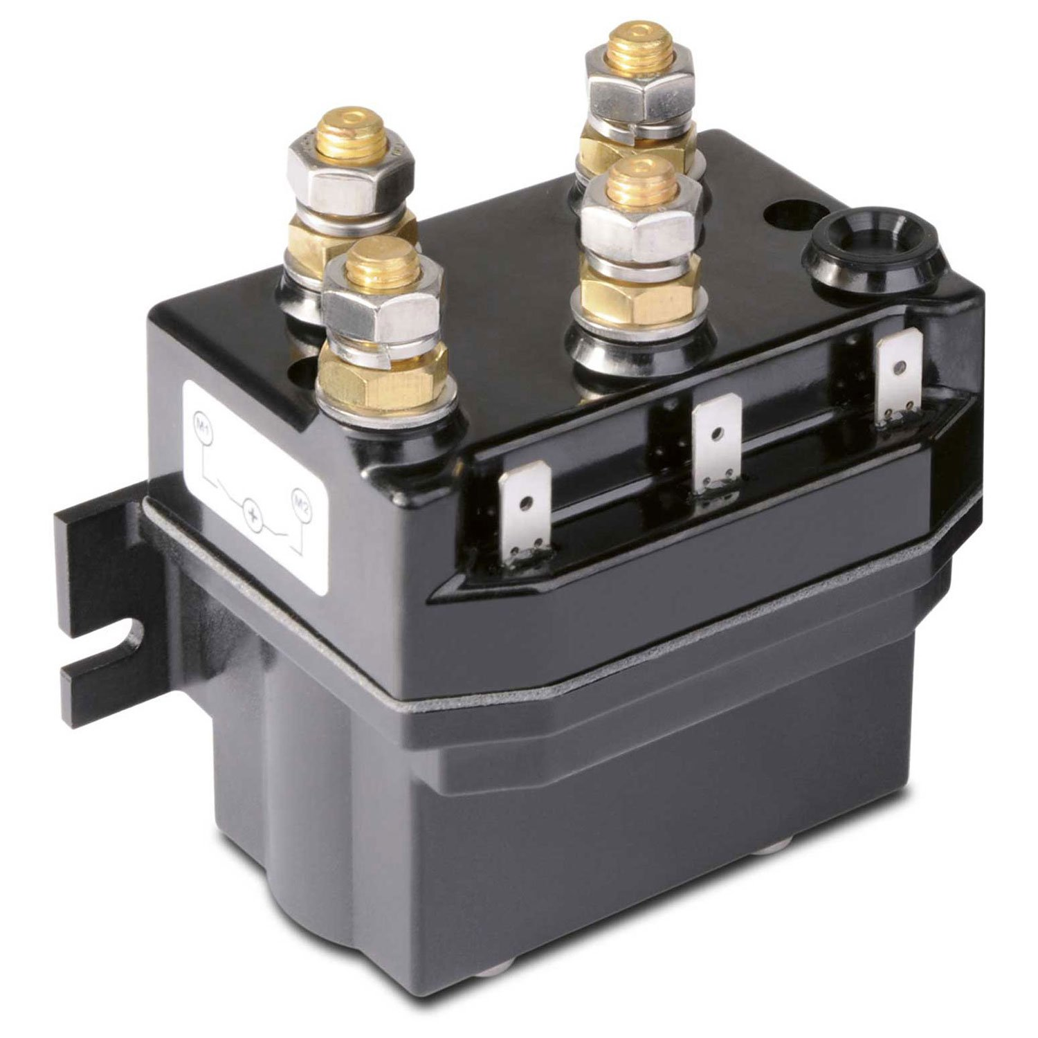 Quick T6415-24, Reverse Solenoid 4-Pull for 2-Pull Motor, 150A 24V IP66