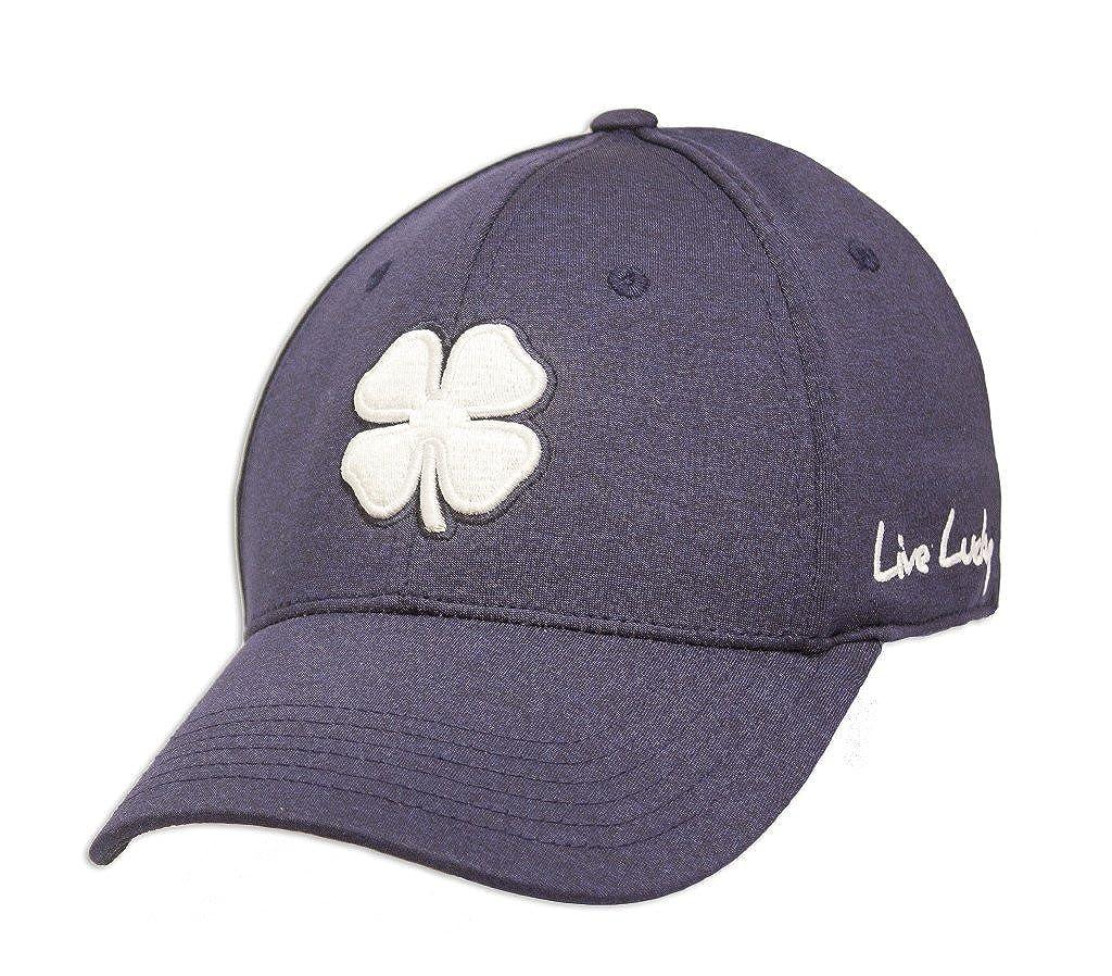 3da7d6e0a2772 New Black Clover Golf- Lucky Heather Hat Small Medium Navy at Amazon Men s  Clothing store  Novelty T Shirts