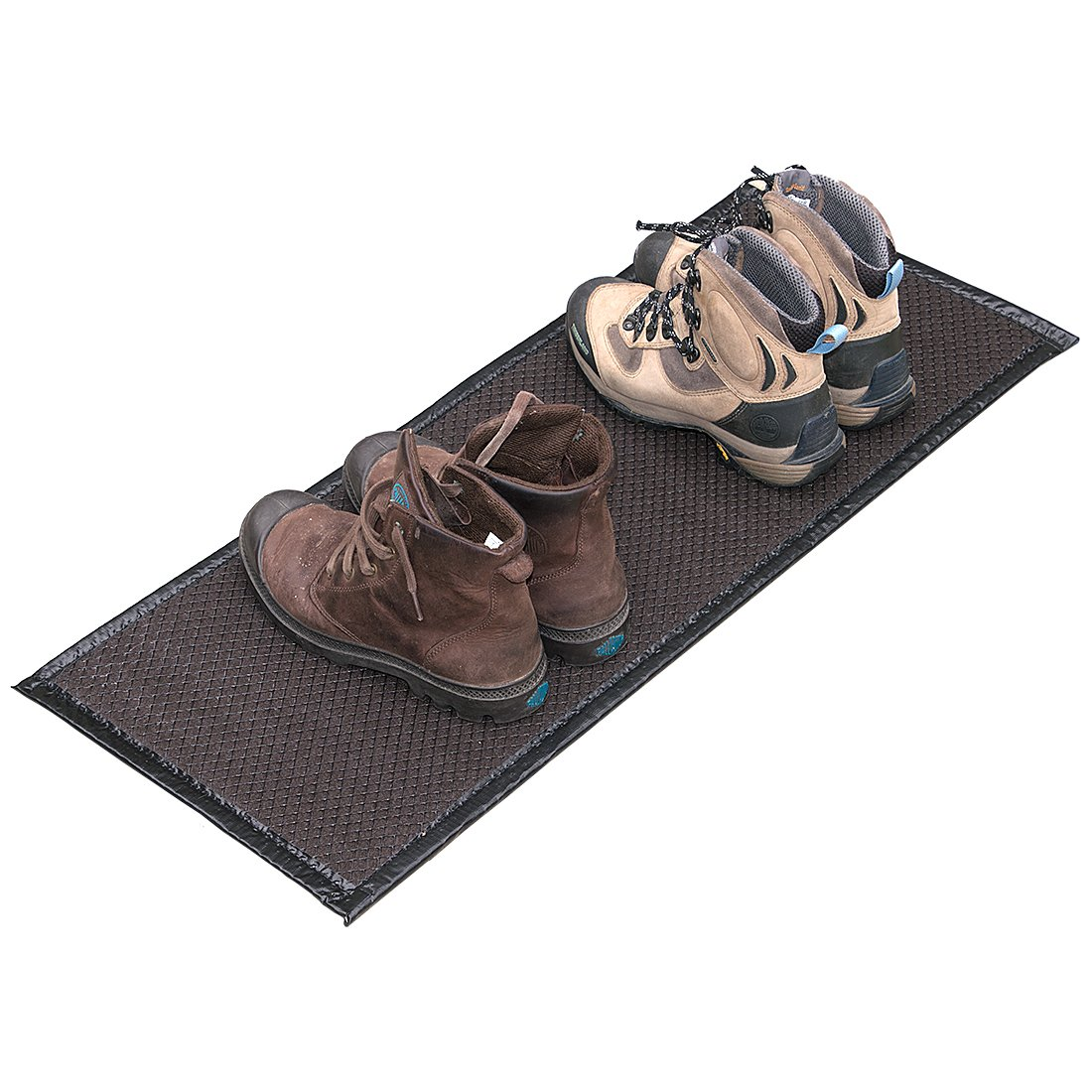 Just Suk It Up.com, Absorbent Boot Mat - 13 x 32 in - Brown