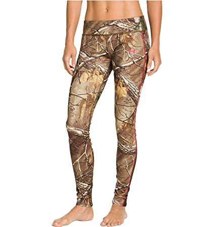 078753d956efc UA Coldgear Infrared Scent Control Evo Women's Hunting Leggings, Realtree  AP/ Camo Pink (