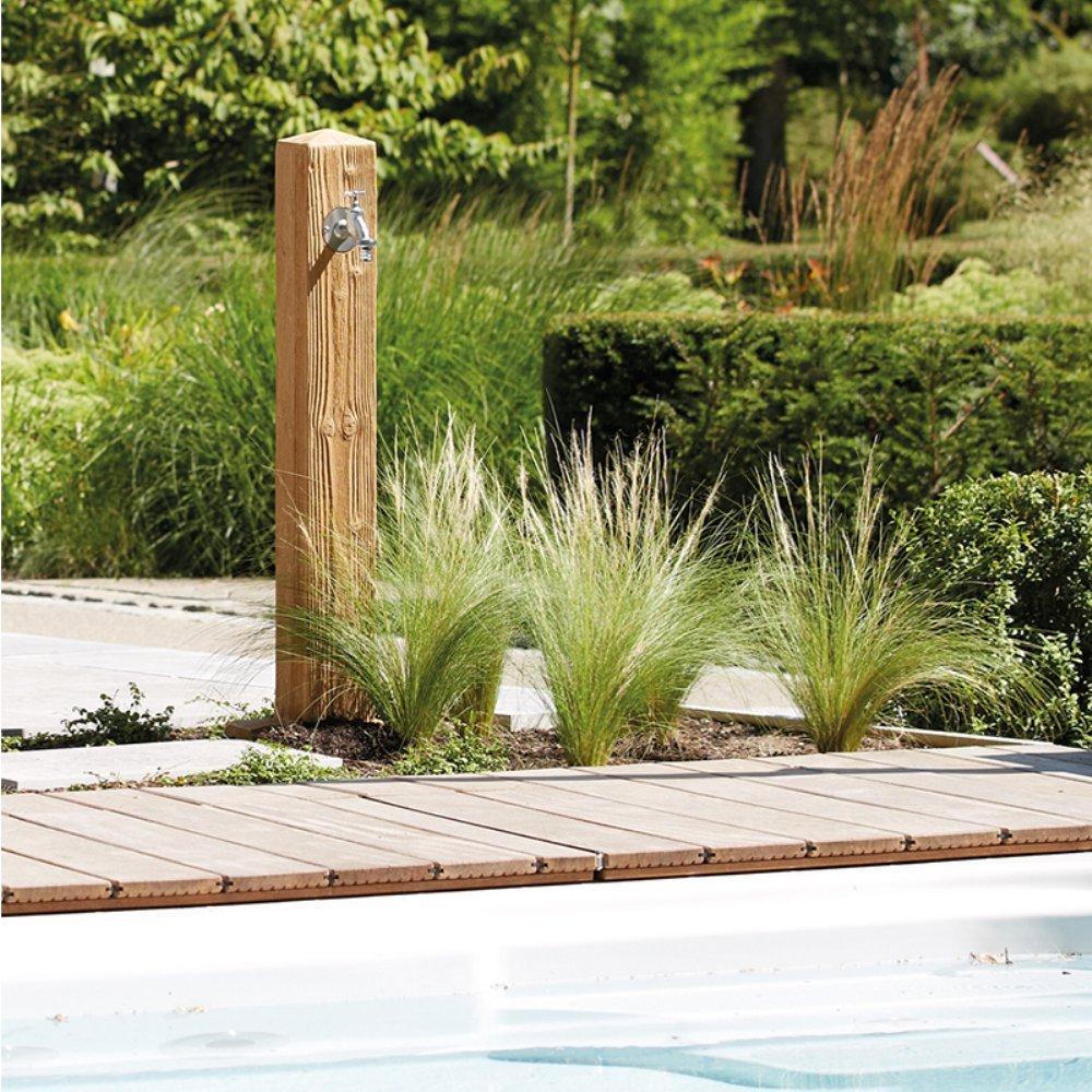 Graf Garantia Wood Wasserzapfsäule helles Holz