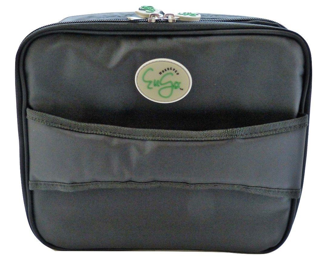 Diabetes Supplies Travel Bag and Organizer - Sport Black