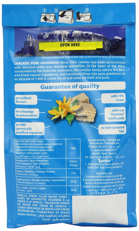 Amazon.com : Loacker Vanilla Quadratini 125 g (Pack of 6) : Grocery & Gourmet Food