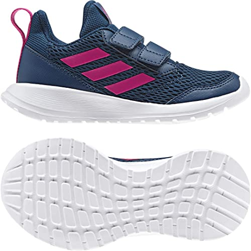 hot sale online 25fed 416c9 adidas Kids Shoes Running Altarun CF K School Fashion Hook Trainers (EU 35  - UK