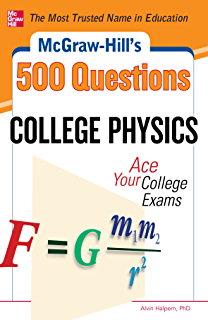 Amazon mcgraw hills 500 organic chemistry questions ace your mcgraw hills 500 college physics questions ace your college exams mcgraw hills fandeluxe Choice Image