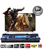 SeeKool 3D Pandora X Arcade Game Console, 1920x1080 Full HD 4 Players Max Arcade Machine with 2260 Games, Support Extended TF Card& USB Disk to Enjoy More Games, for PC / Laptop / TV / PS3