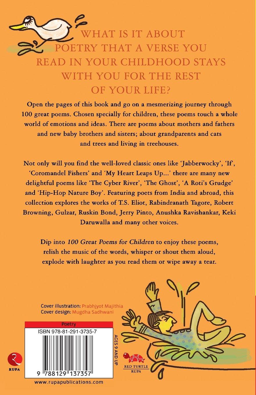 100 Great Poems For Children Amazon Co Uk Deepa Agarwal