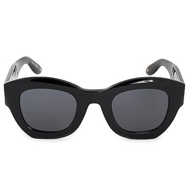 9df55babb7d Amazon.com  Givenchy GV7060 S 807 Black GV7060 S Square Sunglasses ...