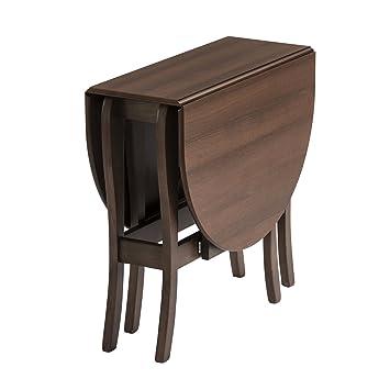 Mood Furniture HEATPROOF Oval Gateleg Gate Leg Drop Leaf Table In Walnut U2013  Made In Ireland