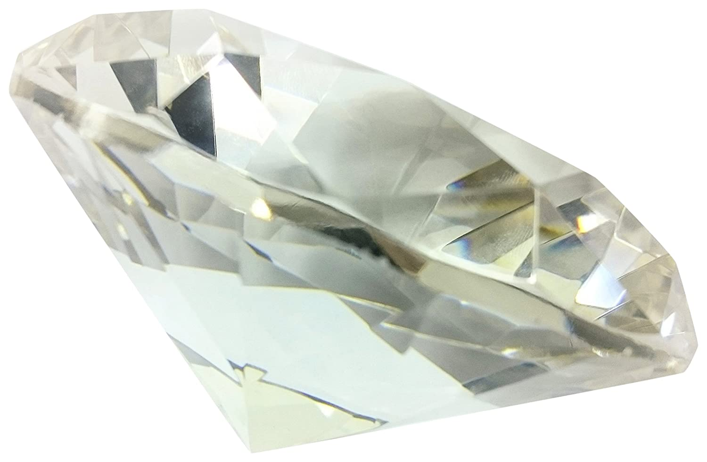 Fancy 60 mm Kristall Glas Diamant Briefbeschwerer blau B0711CR954   Deutschland Frankfurt