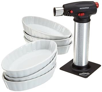Küchenprofis amazon com kuchenprofi creme brulee set kp19250007 cooking torches
