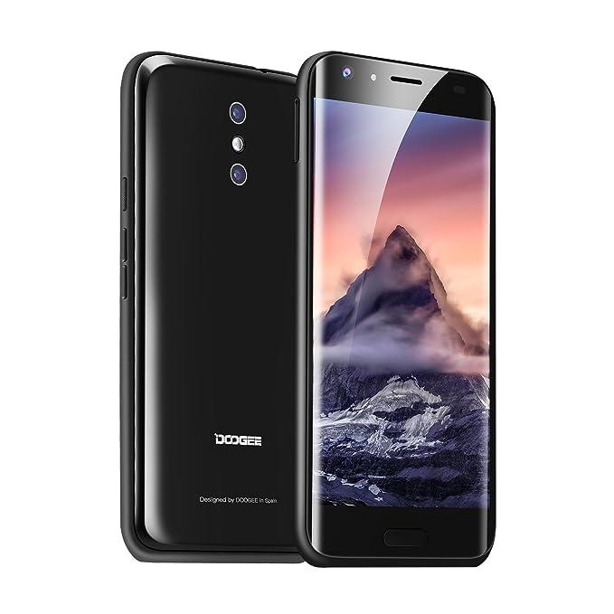 Smartphone Libre,DOOGEE BL5000(2017)Smartphone Móvil Libre 4G Android 7.0 Teléfono Celular(4GB RAM + 64GB Rom, Dual Cámara 13 MP+13MP,MT6750T Octa-core ...