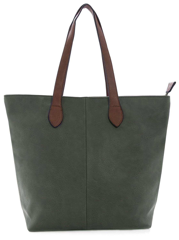 96078090e6 Big Handbag Shop Womans Designer Plain Soft Lightweight Tote Shoulder Bag  (Dark Grey): Amazon.co.uk: Shoes & Bags