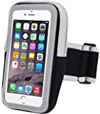 INNLIFE Sports Armband Sweatproof Running Armbag Gym Fitness Cell Phone Case with Key Holder Wallet Card Slot for iPhone 7 Plus 6 Plus 6s Plus Samsung Galaxy S5 S6 S7 Edge 5.5 Inch