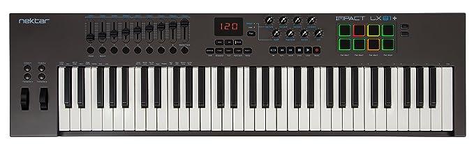 6 opinioni per Nektar Impact LX61+ Controller MIDI