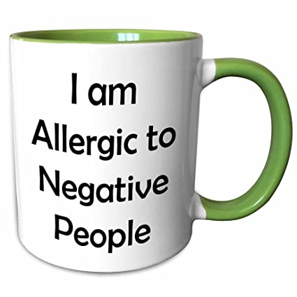 Amazon.com: 3dRose Xander funny quotes - I am allergic to ...