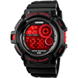 Mens Military Multifunction Digital Watches 50M...