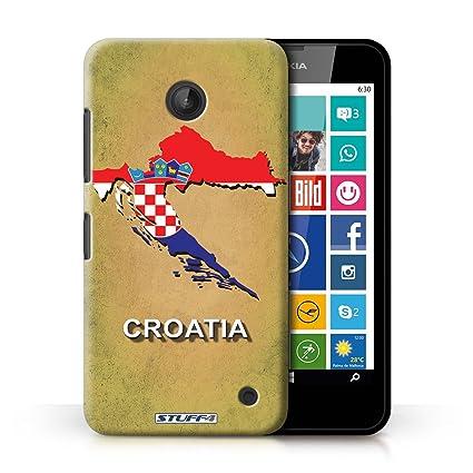 Carcasa/Funda STUFF4 dura para el Nokia Lumia 638 / serie ...