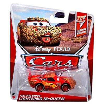 Disney / Pixar CARS MAINLINE 1:55 Die Cast Car Nature Drive McQueen [95 Lightning McQueens 5/5]: Toys & Games